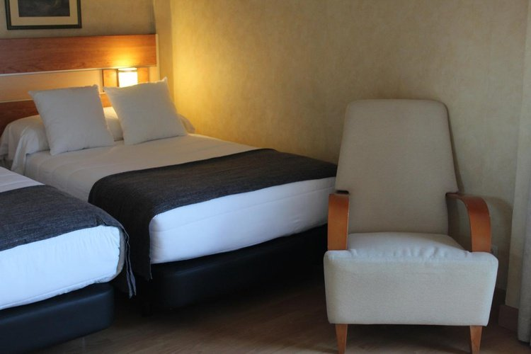 Quarto hotel faranda florida norte madrid