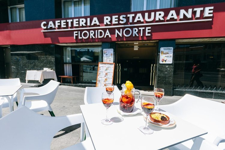 Restaurante hotel faranda florida norte madrid