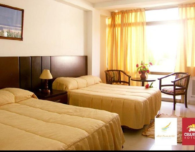 Quadruple rooms hotel beach house puerta del sol playa el agua isla margarita