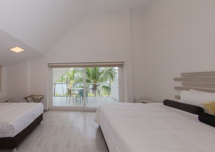 Quarto superior hotel brisa del mar by faranda boutique san andrés
